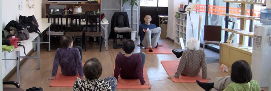 心と体の健康を提案する「健康向上企画」
